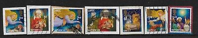 1) GB Stamps  2011 Christmas Full Set Good Used.