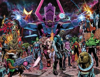 Guardians Of The Galaxy #1 Shaw Wraparound Var (23/01/2019)