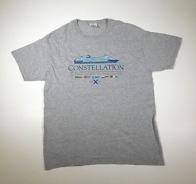 CELEBRITY CRUISE LINE CONSTELLATION T SHIRT adult LARGE (L) 42-44