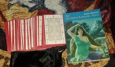 The Victorian Romantic Tarot Kit BOOK & CARDS OUT OF PRINT