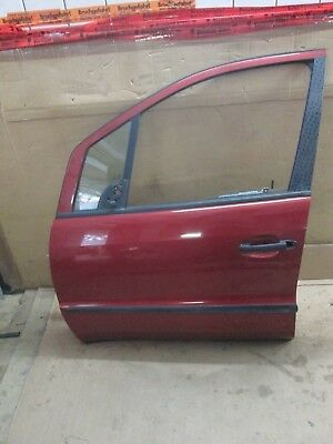 Door Front Left Mercedes Benz W168 Volcanic Red 483 / Incl. Window Regulator