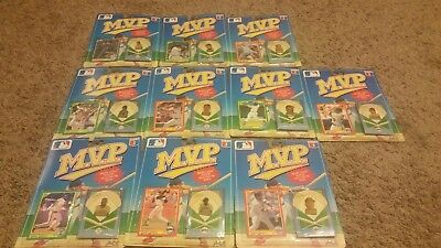 Vintage Mixed Lot Of 10 Ace Novelty Company Mvp Collector Pin Series 1990