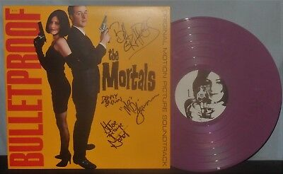 Mortals 1994 Garage Punk Lp Bulletproof Signed Cover, Colored Vinyl Nm Vpi Nr