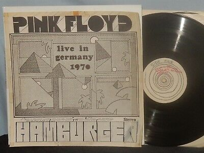 Pink Floyd Ltd. Vinyl 2 Lp Live In Germany 1970 Hamburg Clean Vg+