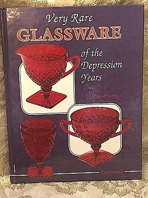 Very Rare Glassware of the Depression Years by Gene M. Florence.  Great Book!
