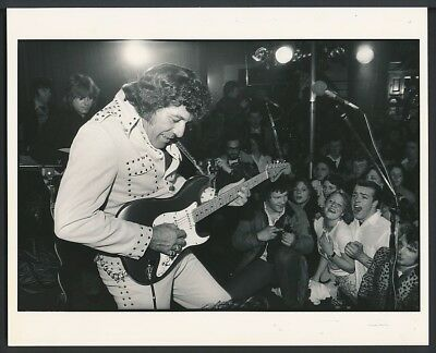 1970's Original Photo CARL PERKINS The King of Rockabilly