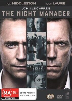 The Night Manager (Dvd, 2016) 🍿 [Brand New & Sealed]