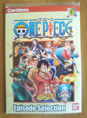 One Piece Episode Selection 20th Anniversary 6 cartes