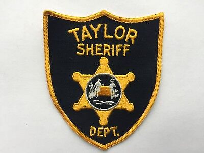 Taylor TEXAS Sheriff Patch