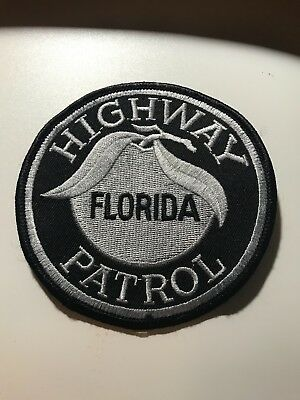 Old Florida Highway Patrol Subdued Circa 1990's BDU Police Patch