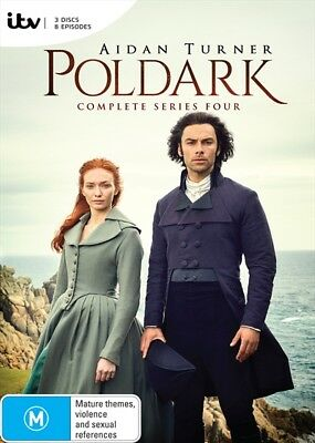 Poldark - Series 4 (Dvd, 2018) 🍿 [Brand New & Sealed]