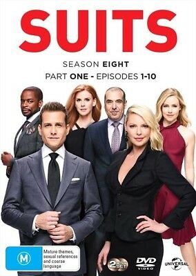 Suits - Season 8 - Part 1 (Dvd, 2018) 🍿 [Brand New & Sealed]