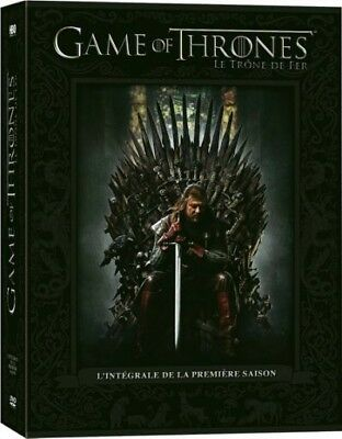 GAME OF THRONES * SEASON 1 And 2 . (Blu-ray , Dvd , Cdn Bilingual Cover) New