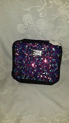 NWT Justice Girls Multi-Colored Sequin(s) Insulated Lunch Bag