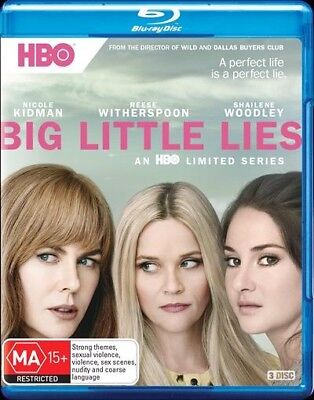 BIG LITTLE LIES - SEASON 1 (Blu-ray, 2017) 🍿 [BRAND NEW & SEALED]