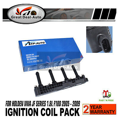 ATP Ignition Coil Pack for Holden Viva JF 4 Cyl 1.8L F18D 2005-2009 1796cc 89kW