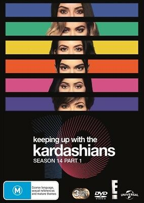 Keeping Up With The Kardashians - Season 14 Part 1 (Dvd, 2018) 🍿 [Brand New]