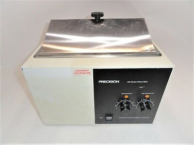 Precision Scientific 183 180 Series Water Bath Power Tested ONLY AS-IS