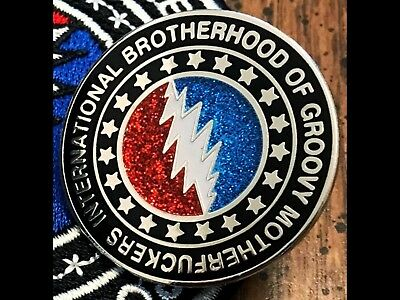 Brotherhood Pin Grateful Dead And Company Inspired Hatpin