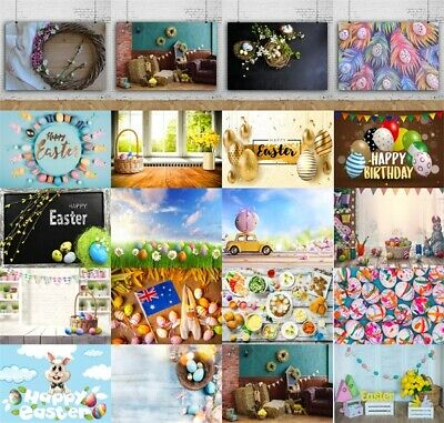 21 Types Vinyl Spring Easter Photography Studio Props Backdrops Backgrounds 7x5/
