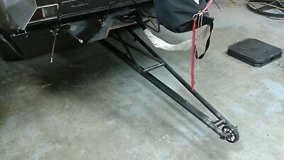 DRAG ATV YAMAHA Banshee 350 Raptor 660 700 Wheelie Bar Wheel