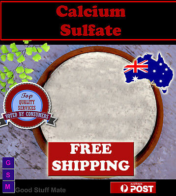 Aussie Seller Gypsum Natural Food Grade Calcium Sulphate FAST FREE SHIPPING