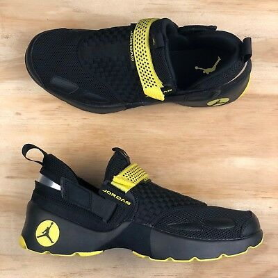 newest a9fcf bd0a0 Nike Air Jordan Trunner LX Thunder Black Opti Yellow  897992-031  Multi Size