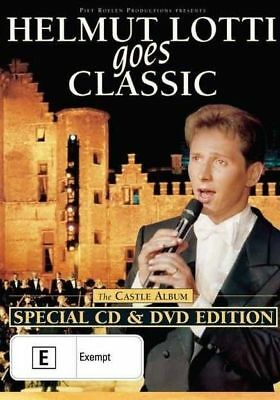 HELMUT LOTTI GOES CLASSIC - THE CASTLE ALBUM..CD + DVD..R4...NEW & SEALED d3085