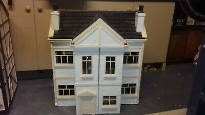Beautiful Antique Vintage Hand Made Wooden Dolls House *