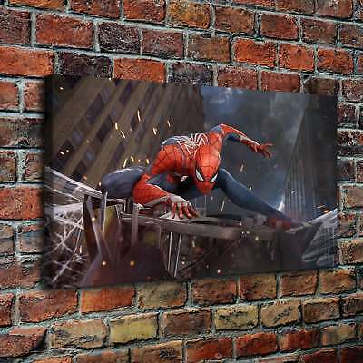 """12""""x22""""Spider Man 4 HD Canvas Prints Painting Home Decor Picture Wall Art Poster"""