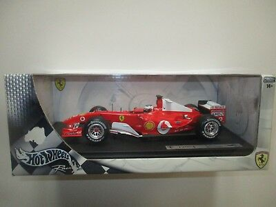 Ferrari F1 F2004 Rubens Barrichello Scala 1:18 Hotweels B6201