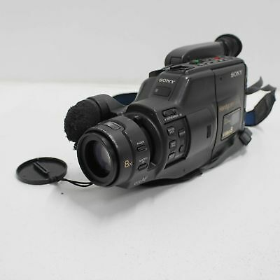 Sony Handycam Video 8 PAL CCD-F375E Camera Recorder Parts Only #209