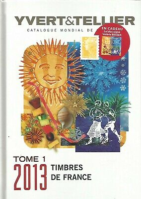 Yvert & Tellier 2013 Stamps Catalog Of France & Famous Mini-Sheet