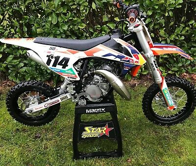 Husqvarna Tc50 Tc 50 Genuine 2017 Model Immaculate Condition Ktm Sx50 Sx 50