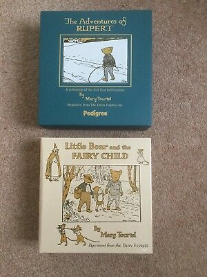 THE ADVENTURES OF RUPERT - Repro Of First 4 Books From 1920's - PERFECT!