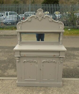 "Shabby Chic Victorian Chiffonier In F&b ""charleston""   Delivery Available"