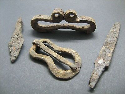 Medieval Europe iron artifacts 9-12 century