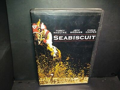 Seabiscuit (DVD, 2003) Full Screen Toby Maguire Brand New Please Read B277