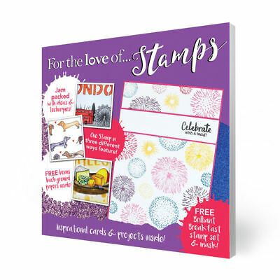 Hunkydory For the Love of Stamps Magazine  Issue 8 ~ Free  Mask & Papers