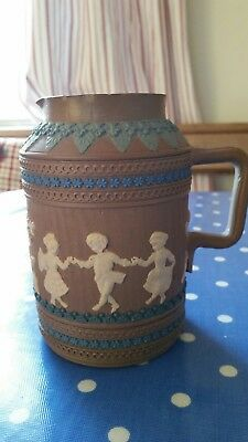 Antique Doulton Lambeth 1881 jug