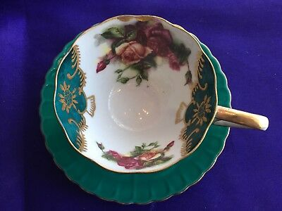 Vintage Fine Bone China Japan Tea Cup and Saucer
