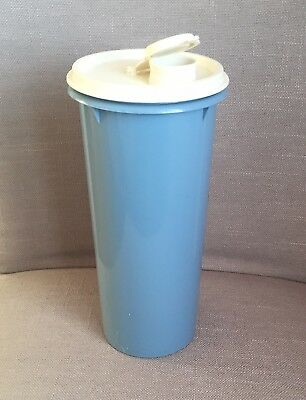 Vintage Tall Round Tupperware Container.