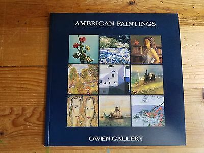Free Shipping - Owen Gallery American Paintings Catalog 2003