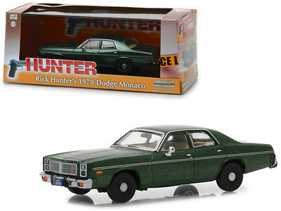 DODGE MONACO 1978 Rick Hunter Tv Series Green Model Car 1:43