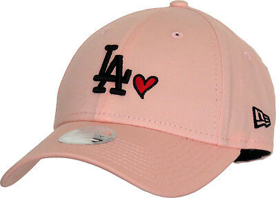 d810bf91 LA DODGERS WOMENS New Era 940 League Essential Pink Baseball Cap ...