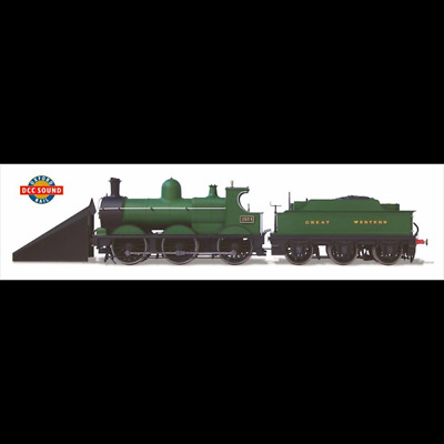 Oxford Rail OR76DG005XS GWR Dean Goods 2534 with Snow Plough DCC Sound New