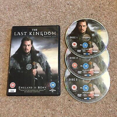 The Last Kingdom Season 1 DVD
