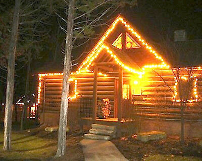 CHRISTMAS 2 Bedroom LOG CABIN Big Cedar Wilderness Club December 24-28th