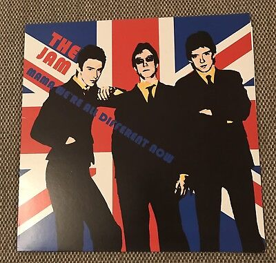 The Jam Mama We're All Different Now Green Vinyl Rare Bootleg Album