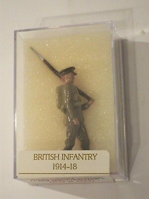 WW1 British Infantry, Flat Cap Khaki Rucksack, SEALED, Toy Army Workshop Case